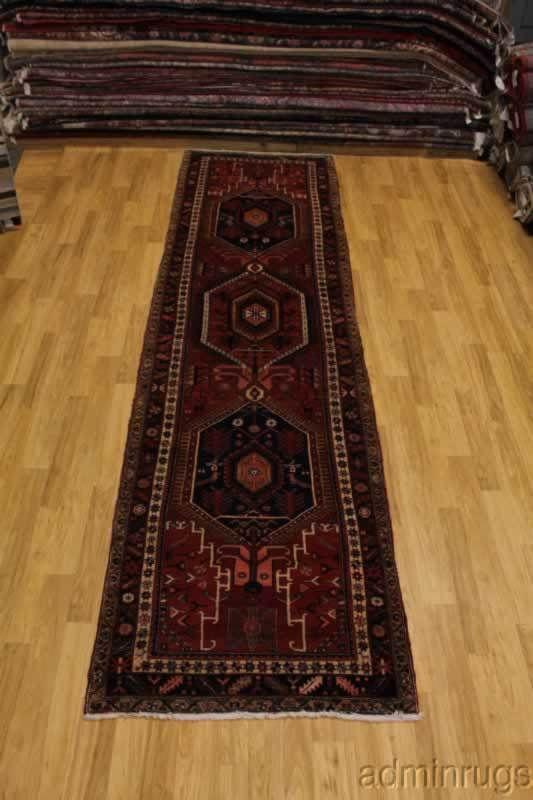 Palace Thick Pile Goravan Heriz Runner Persian Oriental Area Rug Carpet 4x15