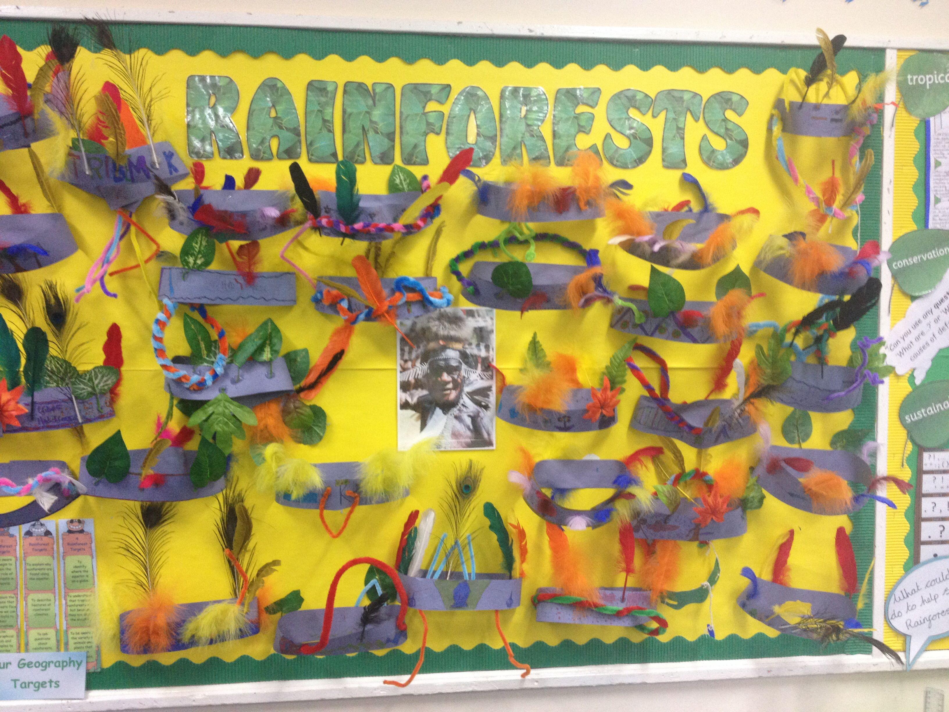 Rainforest Headdresses