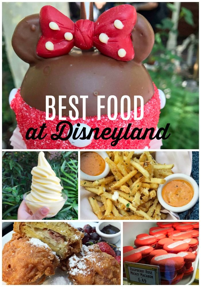 Best Food at Disneyland.  What to eat at Disneyland. A list of the best and most popular food to eat at Disneyland. Favorite foods at Disneyland. Disneyland FOOD. www.modernhoney.com #disneylandfood