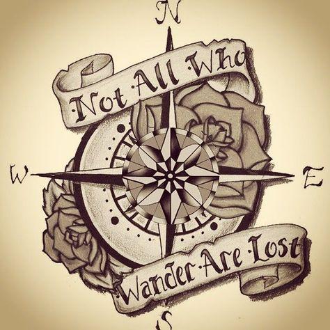 Epingle Par Seeaan Sur Tattoo Construction Tattoos Compass Tattoo