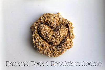Vegan4One: Banana Bread Breakfast Cookies