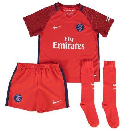 Camisetas del PSG para Niños Away 2016 2017  c9eae40b6bcaa