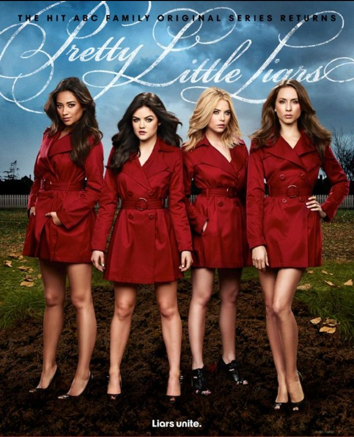 Pretty Little Liars Veja O Poster E Fotos Do Elenco Para A Quarta