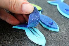 Magnetic Fishing Game for Kids Craft Tutorial #games