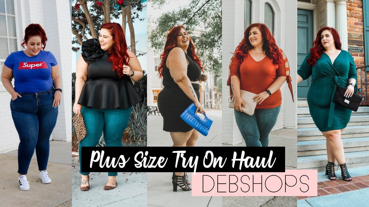 8042cebb766 Plus Size Try On Haul - DebShops