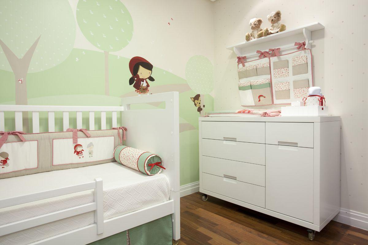 Nosso quarto da Chapeuzinho Vermelho e o Lobo  # Little Red Hat Riding Hood