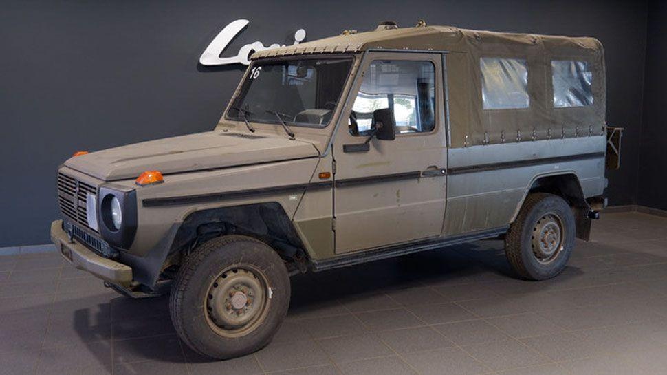 Te Koop Voorraadje Ex Leger G Klasses Steyr Leger Jeep