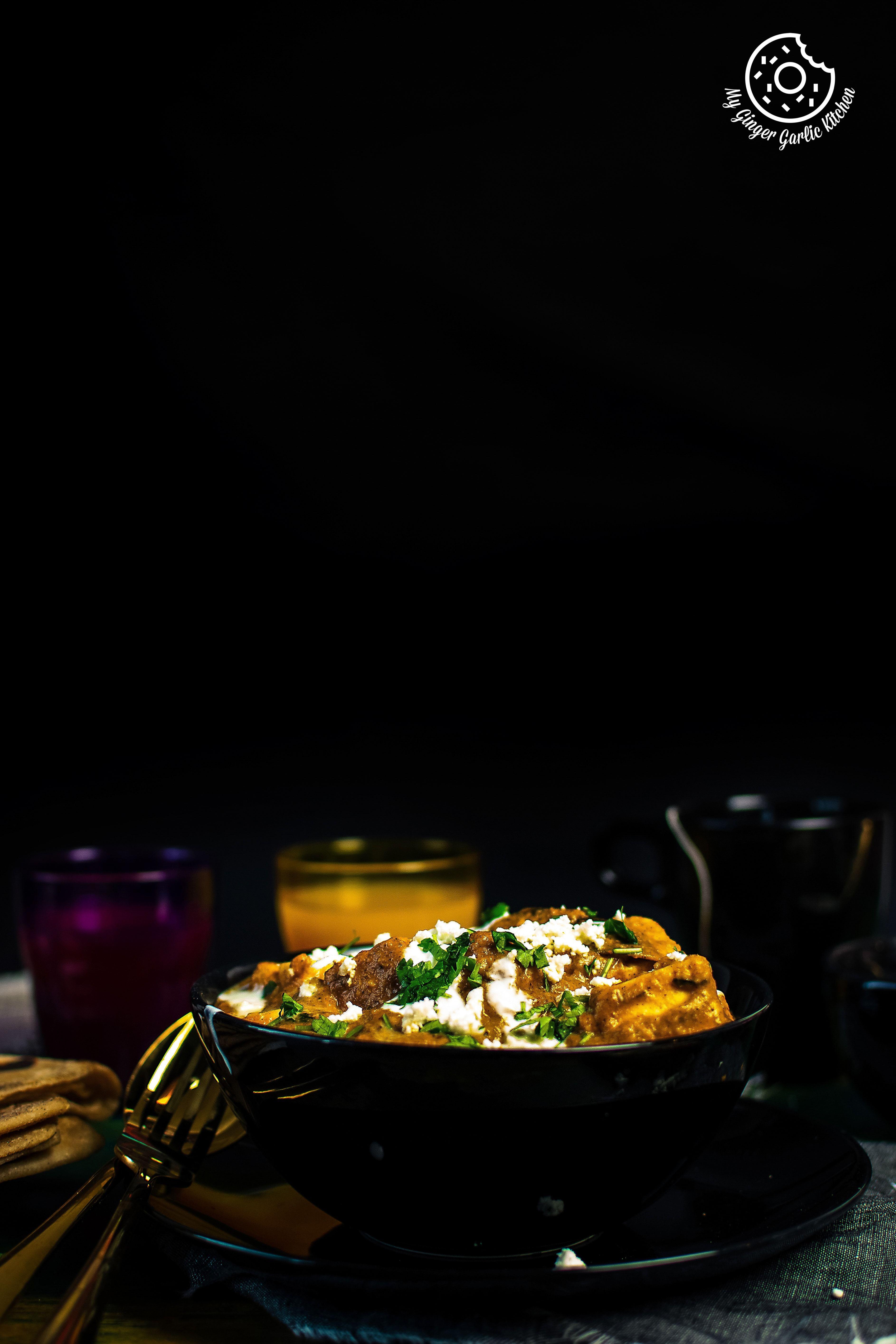 paneer lababdar recipe paneer lababdar curry dishes spicy gravy on hebbar s kitchen recipes paneer lababdar id=58333
