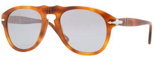 10b4ea28d2 Persol PO0649 96 82 Light Havana Sunglasses with Grey Photochromic  Polarized Lenses 54mm 649 96