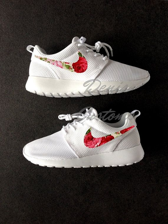 switzerland nike roshe run floral red pink 3c39c 2a022