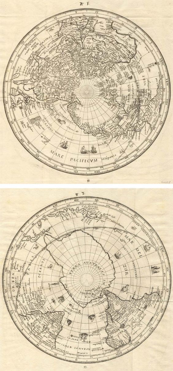 Antique map of world by habrecht free printable living cuadros antique map of world by habrecht free printable gumiabroncs Image collections