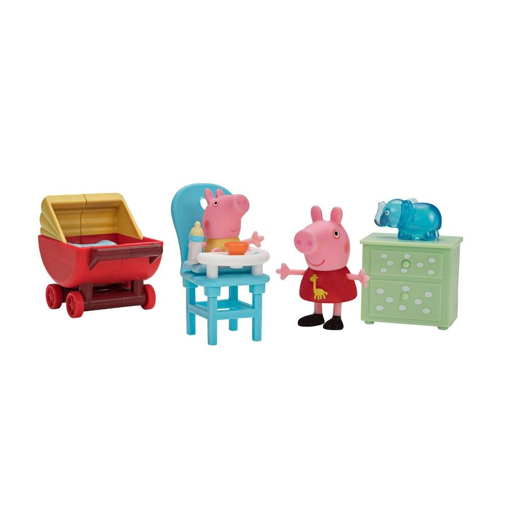 Peppa Pig Little Rooms Peppa And Baby Alexander Peppa Pig Toys Peppa Pig Baby Peppa Pig [ 1000 x 1000 Pixel ]