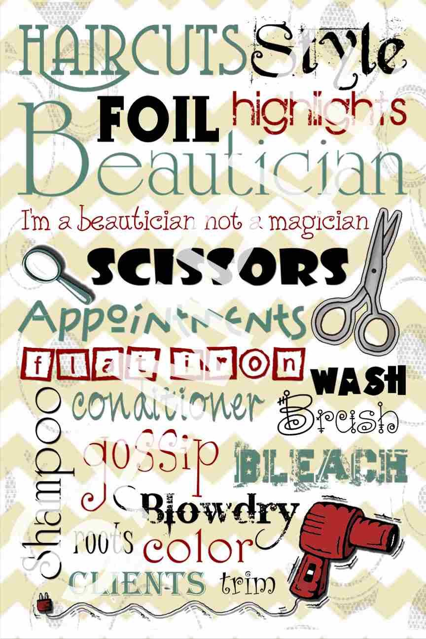 Behind the chair quotes - Hair Salon Printable Subway Art By Kamisdigitalcreation On Behind The Chairhairdresser Quoteshairstylist