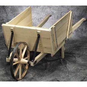 Photo of Garden Wheelbarrow Plan