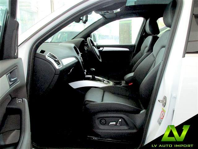 Audi Q5 S line Plus 2.0 TFSI Quattro Tiptronic Exterior : Ibis White  Interior : Black