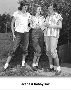 Teenagers fashion in the 1950s 15