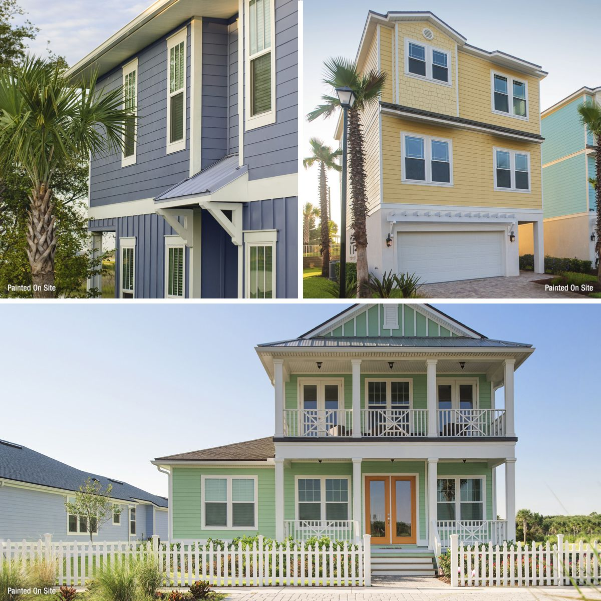 Popular Siding Colors For 6 Of America S Favorite Home Styles Beach House Colors House Styles Siding Colors