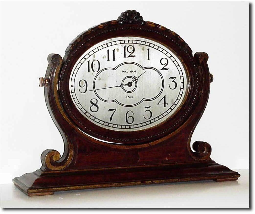 Antique Clock Pictures Waltham Antique Clock Vintage Clock