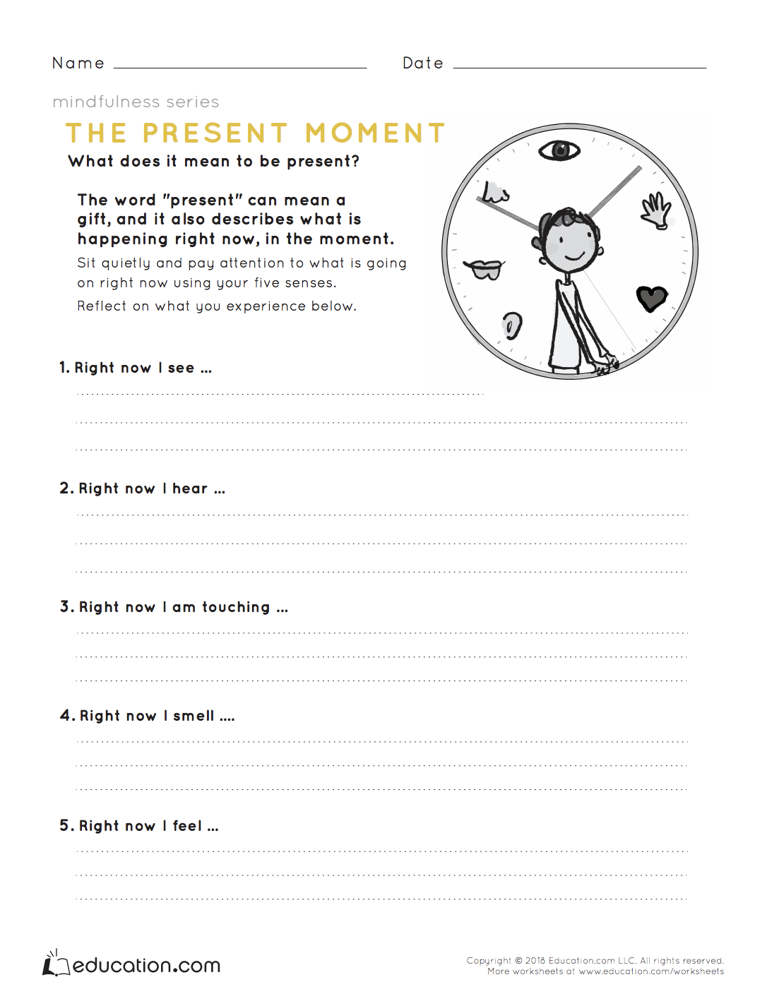 Mindfulness The Present Moment