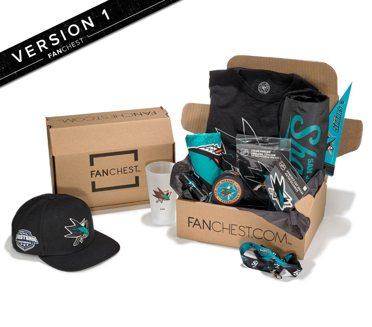 huge selection of dd593 b69f4 San Jose Sharks FANCHEST Deluxe | Me | Gifts for sports fans ...