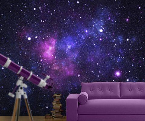 Galaxy Wallpaper Space Themed Room Galaxy Bedroom Bedroom Themes