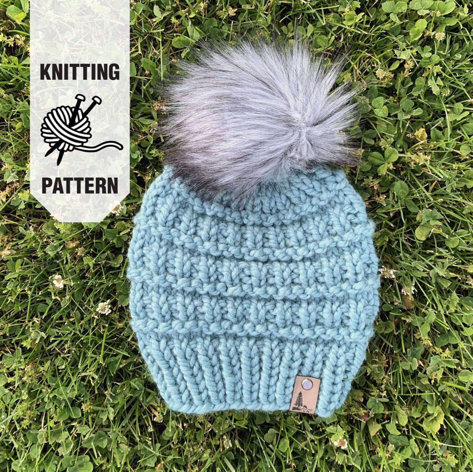 Knitting Pattern - The Koa Beanie Pattern - Hat Pattern ...