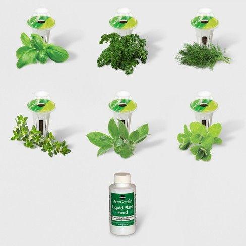 Gourmet Herbs 6 Pod Seed Kit Aerogarden *D*Lt Unisex 400 x 300