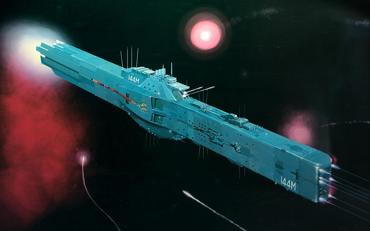 The Codices Photo Galactic Heroes Space Battleship Concept