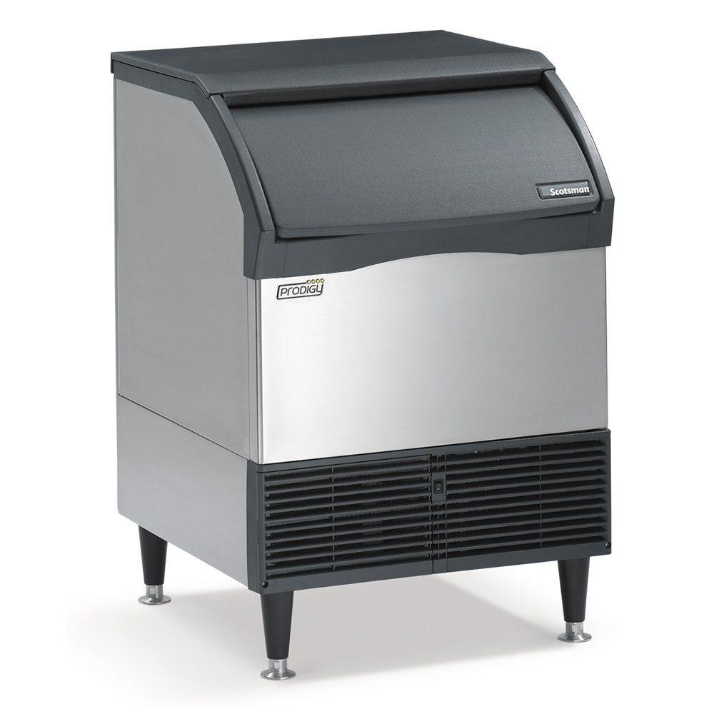 Scotsman Cu1526sa 1 Prodigy Series 26 Air Cooled Undercounter Small Cube Ice Machine 150 Lb Restaurant Equipment Cube