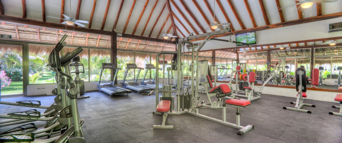 The Gym El Dorado Seaside Suites By Karisma Riviera Maya Mexico Mexico Resorts Nickelodeon Hotel Honeymoon Spots