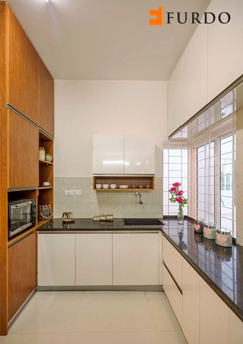 15 Indian Kitchen Design Images From Real Homes The Urban Guide Kitchen Design Small Space Kitchen Furniture Design Kitchen Interior Design Decor