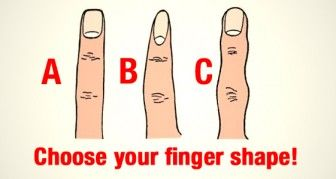 What Does Your Finger Shape Reveal About You?