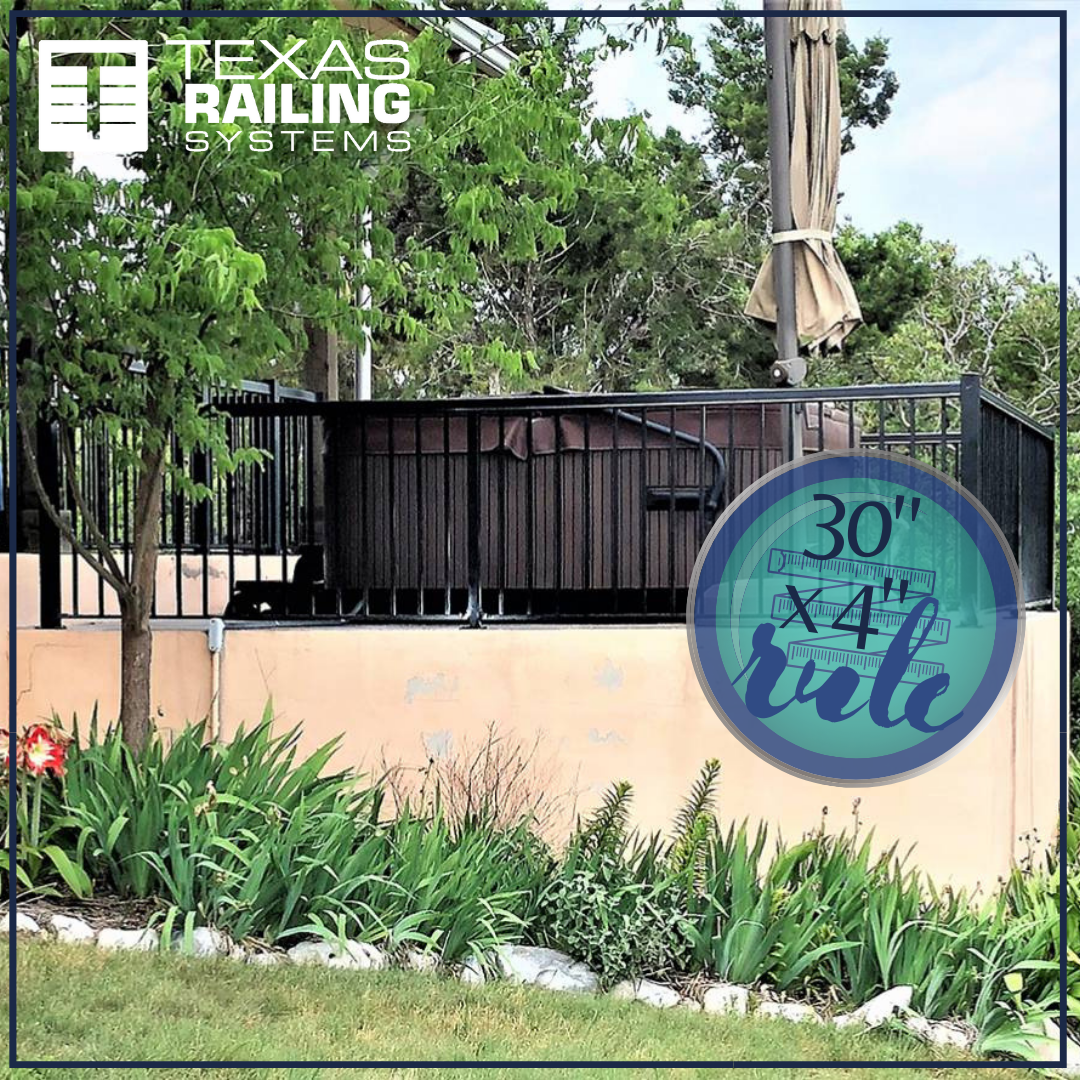 30 X 4 Rule If The Deck Is Higher Than 30 Inches Above Grade A Guardrail Is Required And Spacing Between Balu Railing Glass Railing System Miraval Resort