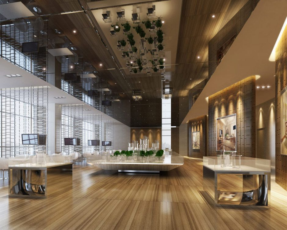 Design for the clubhouse and three types of show units the for Types of house interior design