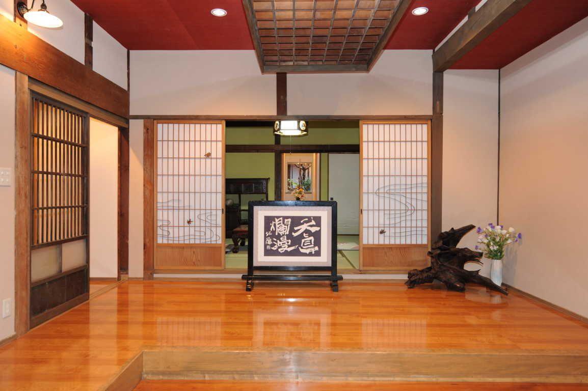 Desain Bagian Dalam Rumah Jepang Pintu Geser Japanese Home Design House Design Japanese Interior Design Model rumah kayu jepang