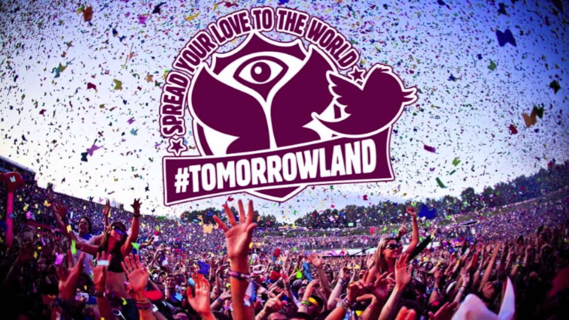 Tomorrowland Logo HD Free Wallpapers Download | 가보고 싶은 장소 ...