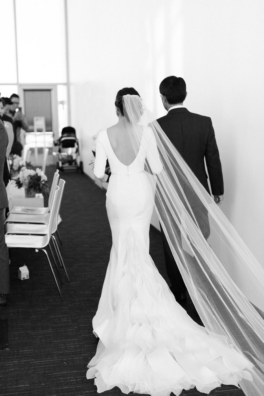 Downtown la wedding with rooftop views pinterest wedding dress