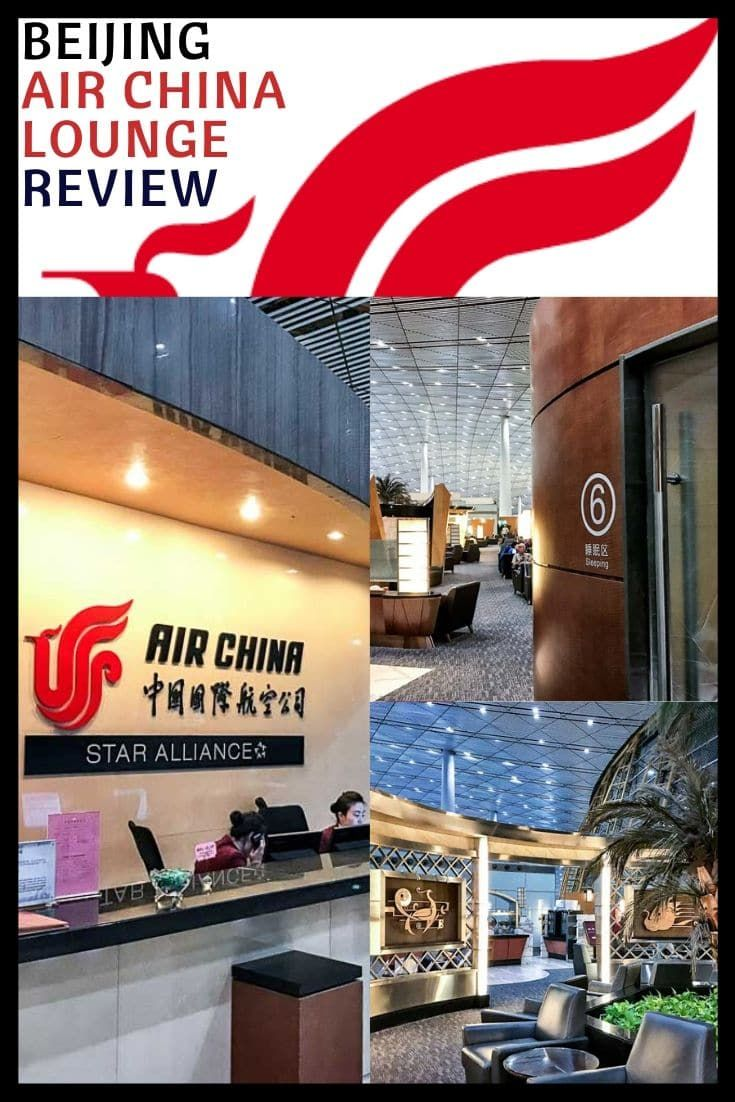 Air China Business Class Lounge Review Beijing (PEK) in