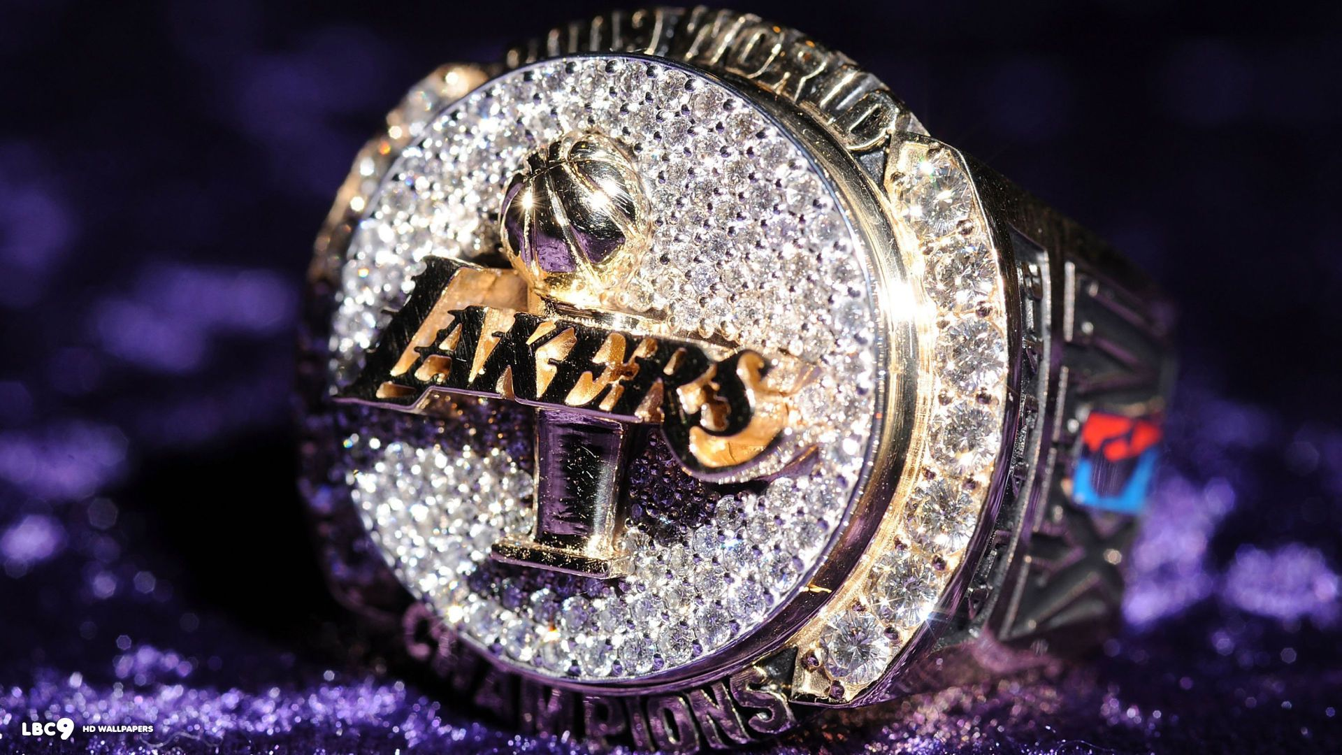 Lakers Wallpaper Logo On Shining Blue Sports 2560x1440 LA Wallpapers HD 42