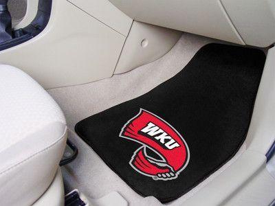2-pc Carpet Car Mats - Western Kentucky University