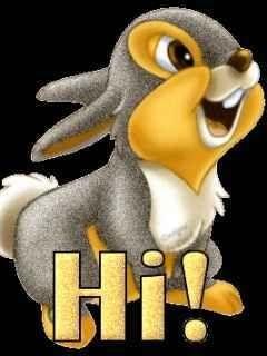 Hd 240x320 Hi Cute Rabbit Mobile Phone Wallpapers