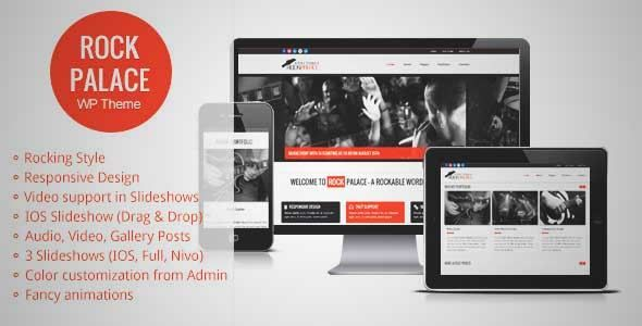Download and review of Rock Palace - Music Wordpress Theme, one of ...