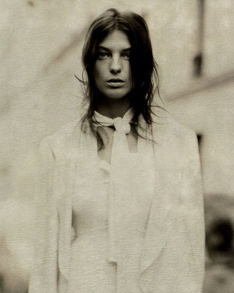 Daria Werbowy by Paolo Roversi /