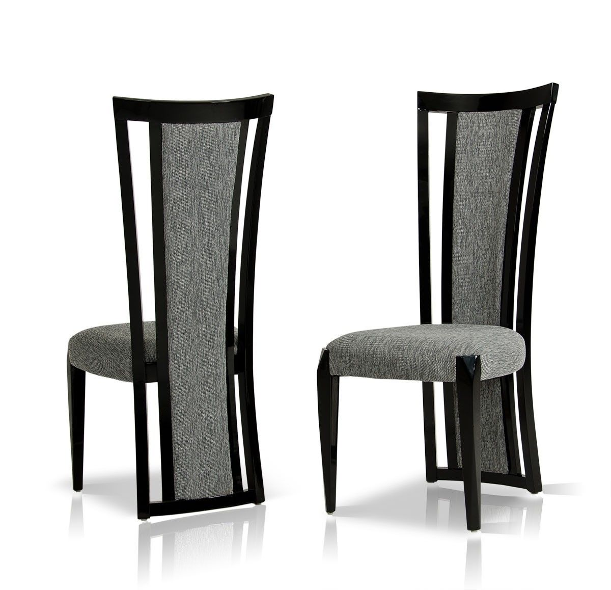 Black fabric dining chairs - Dining Room Chairs Fabric Libra Modern Fabric Dining Room Chair