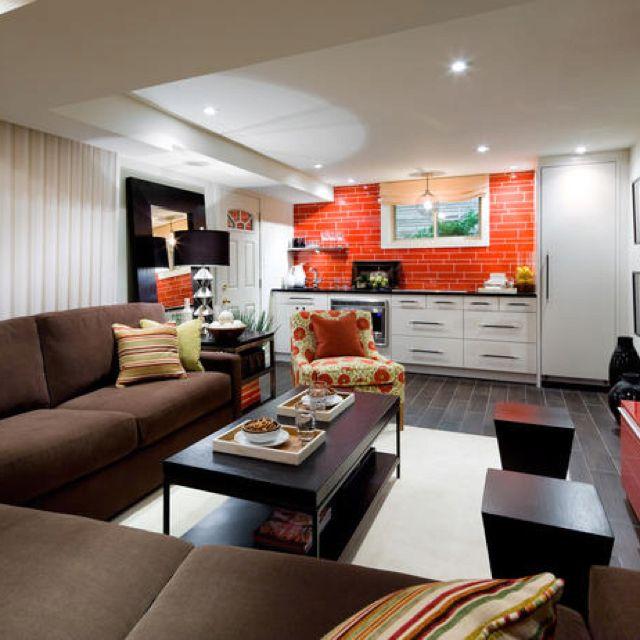 Candice Olson Basement Design: Spiced Up Basement ..... Candice Olson Design That Creates