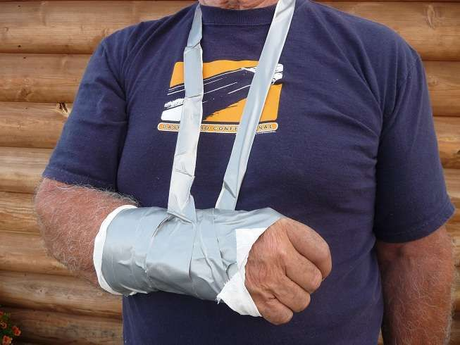 Soft Cast using Duct Tape