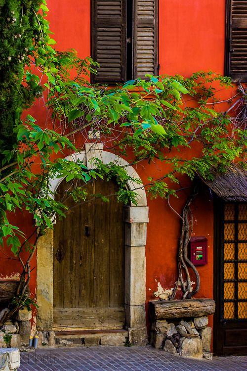 Provencetoujours Le Castellet La Cadiere Portas De Entrada