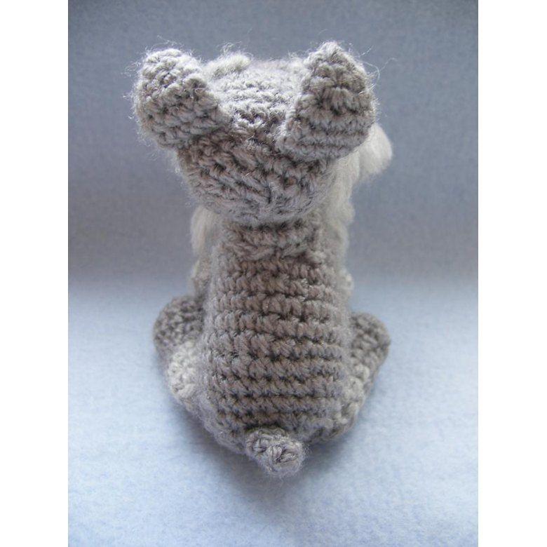 Schnauzer Crochet pattern by Justyna Kacprzak | Knitting ...