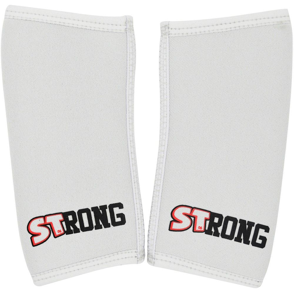 Sling Shot Strong Compression Elbow Sleeves By Mark Bell Large White Slingshot Large White Sleeves