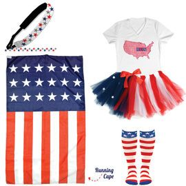 Patriotic Running Gifts | Gone For a Run #4thofJulyrunninggear #teamsparkle